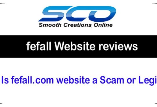 fefall Website Review