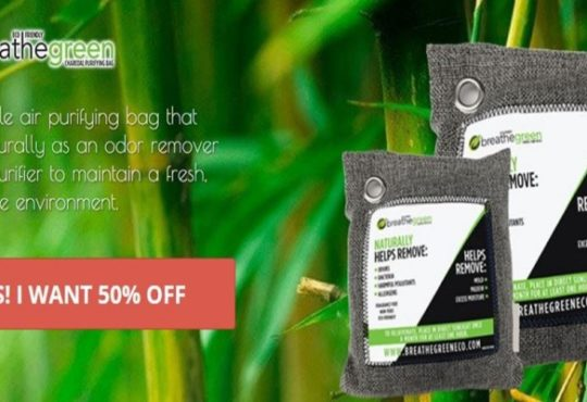 Breathe Green Charcoal Bags Product Reviews