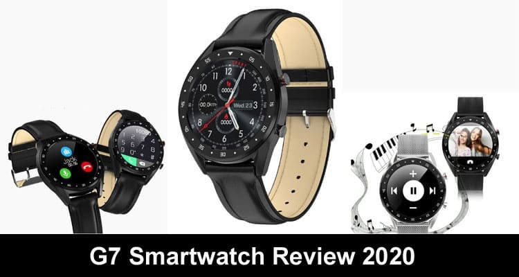 G7 Smartwatch Review 2020 Smooth