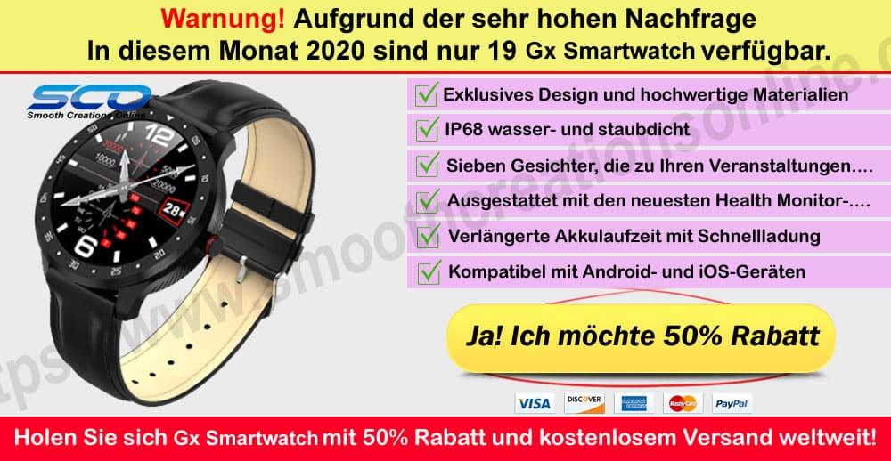 Gx Smartwatch Bezugsquellen