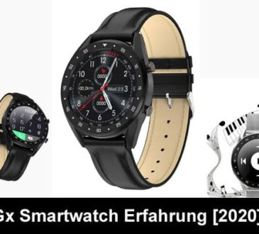 Gx Smartwatch Erfahrung Smooth