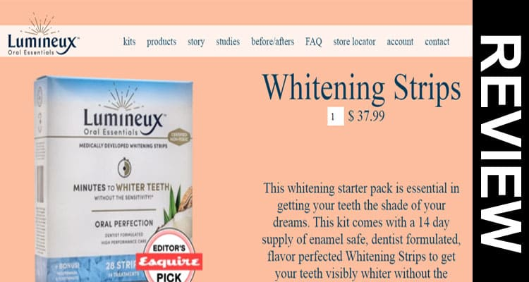 Lumineux Teeth Whitening Reviews Legit Online Store