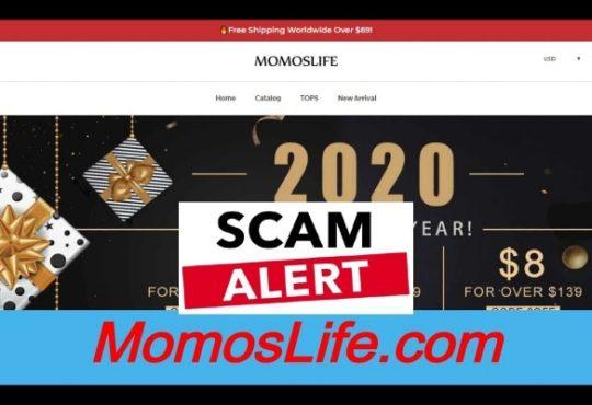 Momoslife Com Reviews [April 2020] Is It Legit or SCAM