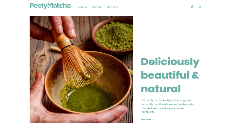 Peely Matcha Website Reviews