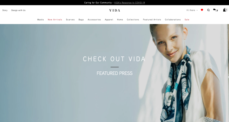 Shop Vida Mask Website Reviews