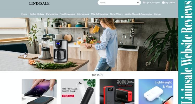 Lininsale Website Online Reviews