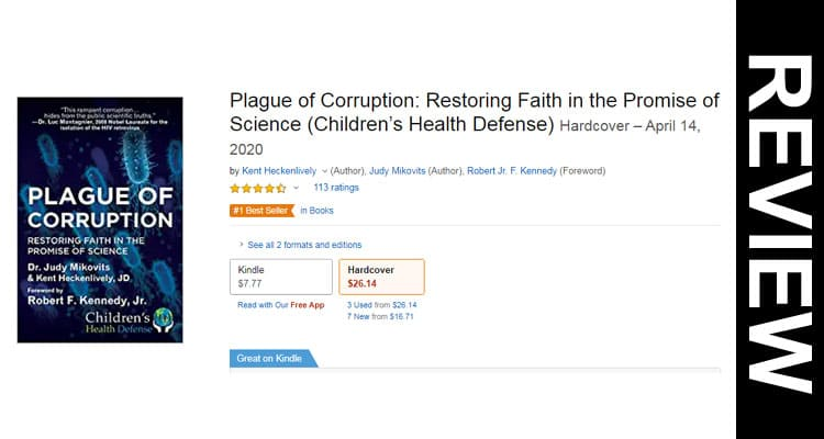Plague of Corruption Book Review 2020