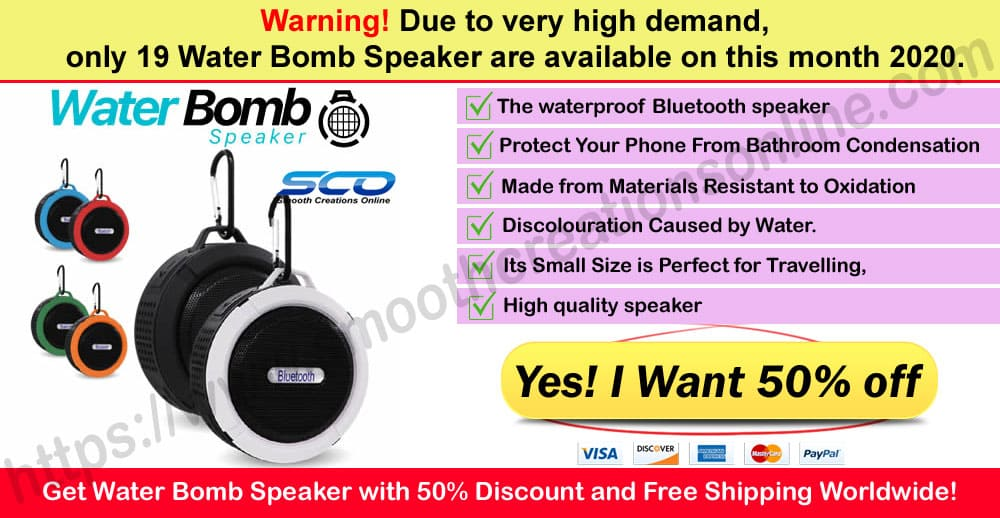 Water Bomb Speaker Where to Buy