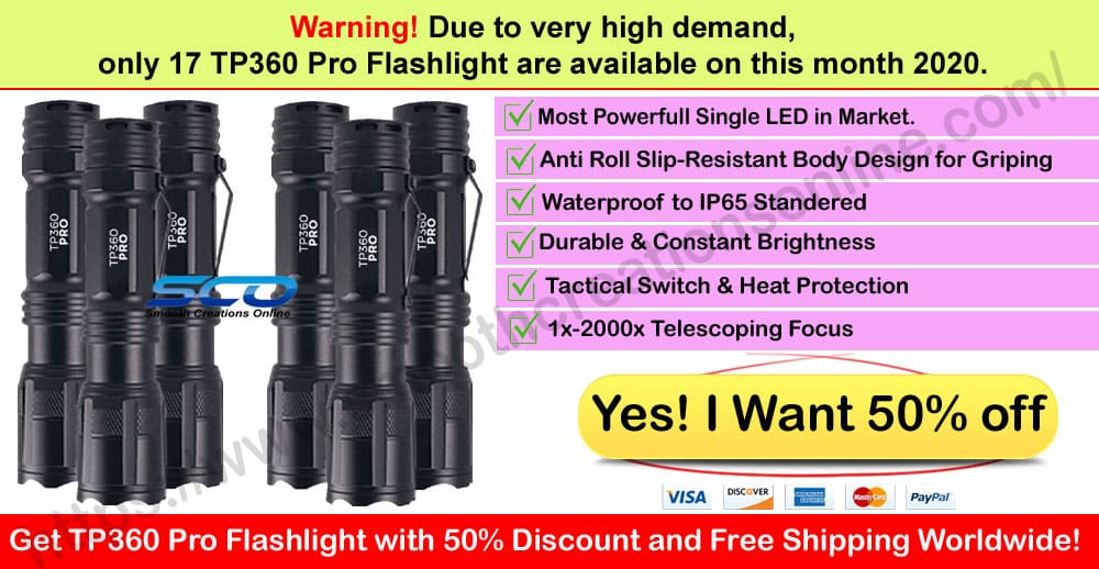 tp360 Pro Flashlight Where to Buy