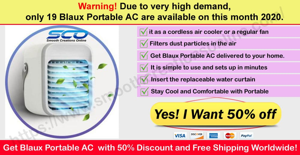 Blaux Portable AC Review Where to Buy on smooth