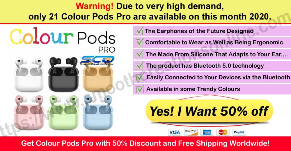 Colour Pods Pro Where to Buy
