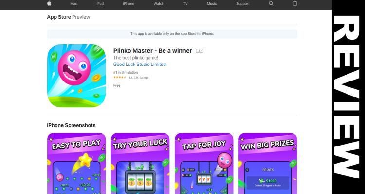 Plinko Master App Legit