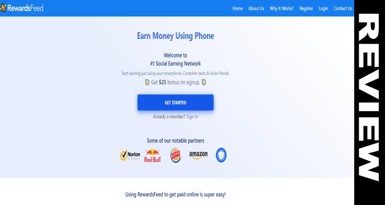 Rewardsfeed net Scam