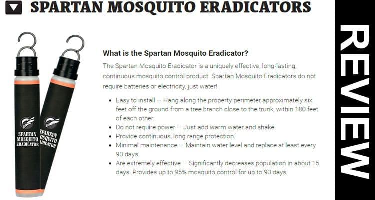 Spartan Mosquito Eradicator Reviews 2020