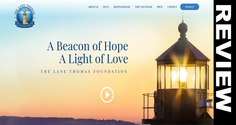 Thomas Lane Fundraiser Website