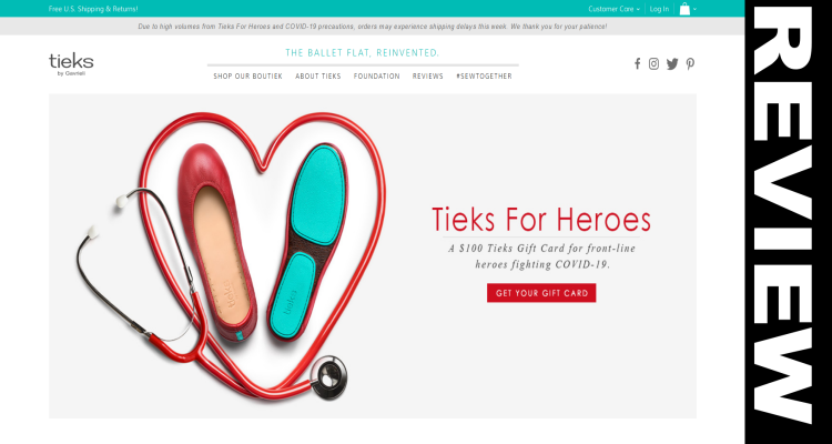Tieks Healthcare Discount