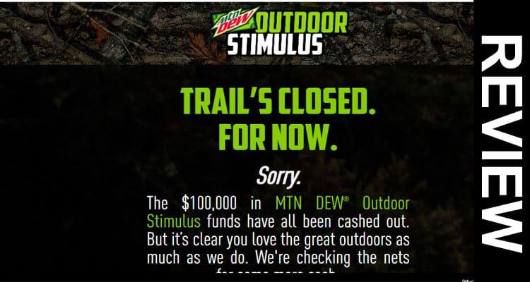 Dew Outdoors com Stimulus 2020