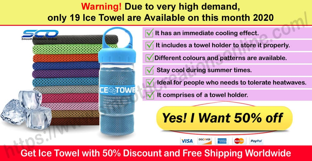 Ice Towel Where to Buy on Smooth