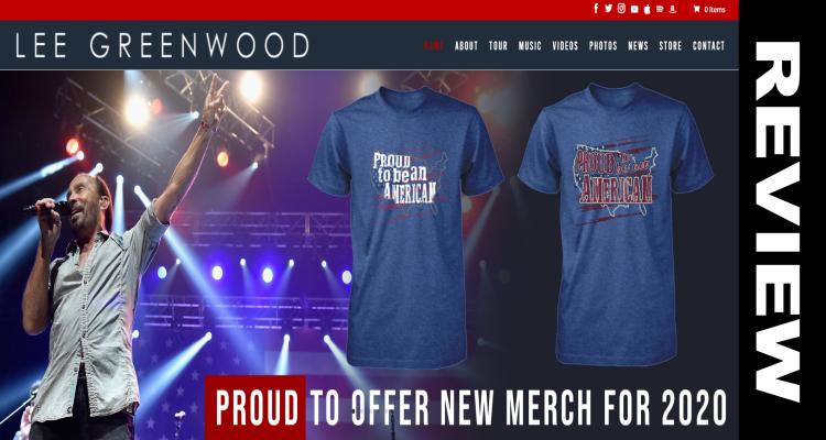 Lee Greenwood com T Shirts
