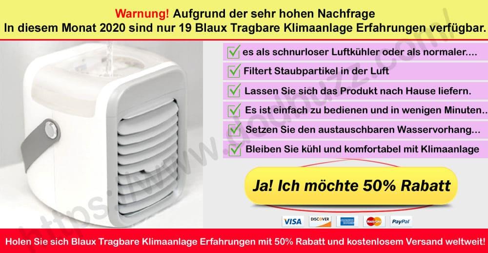 Blaux Tragbare Klimaanlage Erfahrungen Buy German