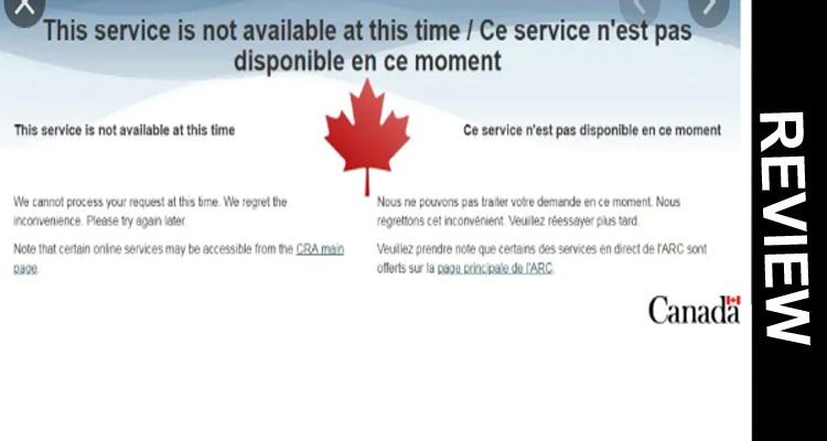 Cra Website Down