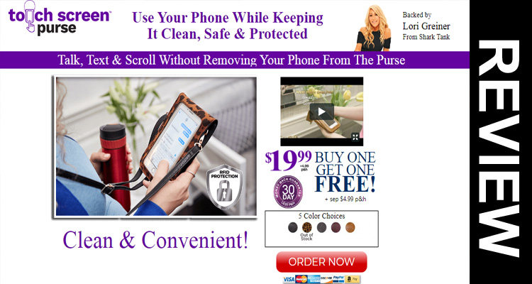 Gettouch Screen Purse Reviews