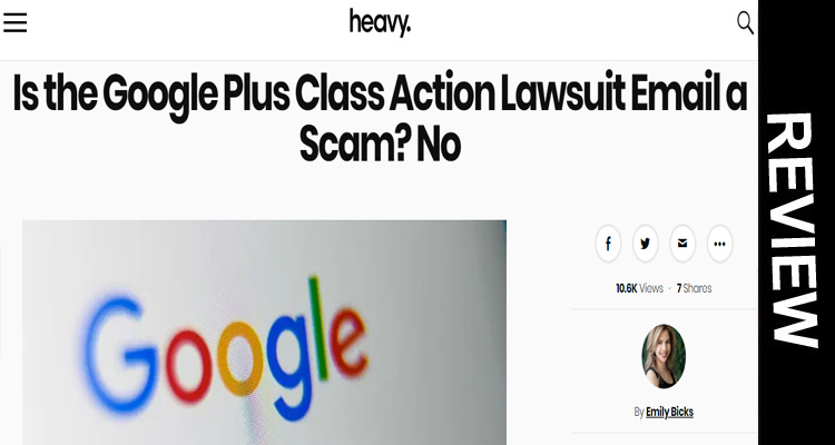 Google Plus Class Action Lawsuit Scam