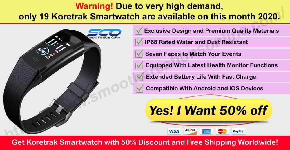 Koretrak Smartwatch Reviews Where to Buy