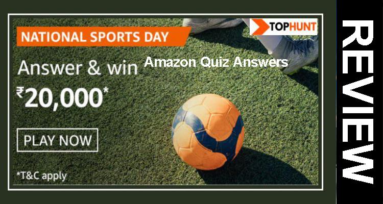 National Sports Day Amazon Quiz Answers