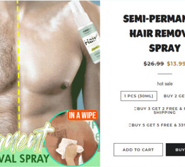 Semi-Permanent Hair Removal Spray Reviews
