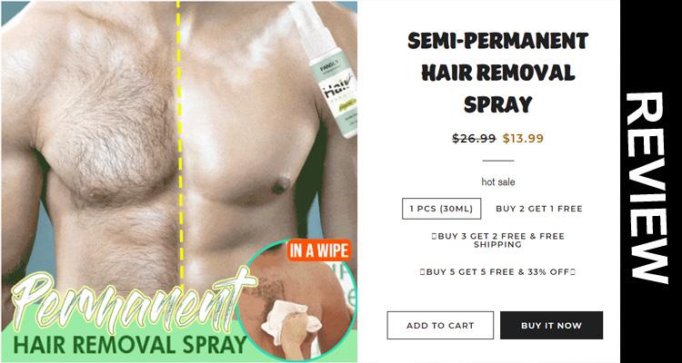 Semi-Permanent Hair Removal Spray Reviews