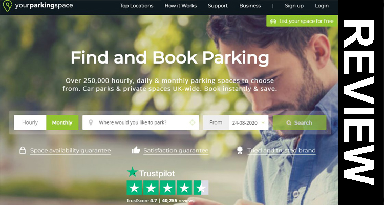 Your Parking Space Reviews