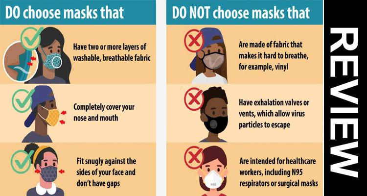 CDC Mask Guidelines September 2020