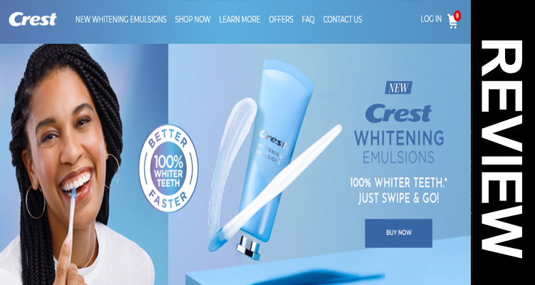 Crest Whitening Emulsions Reviews