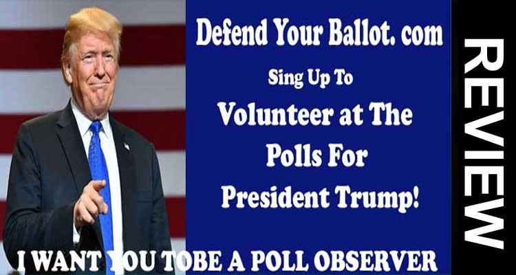 Defend Your Ballot. Com'