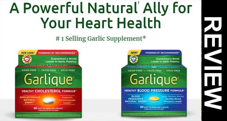 Garlique Blood Reviews.