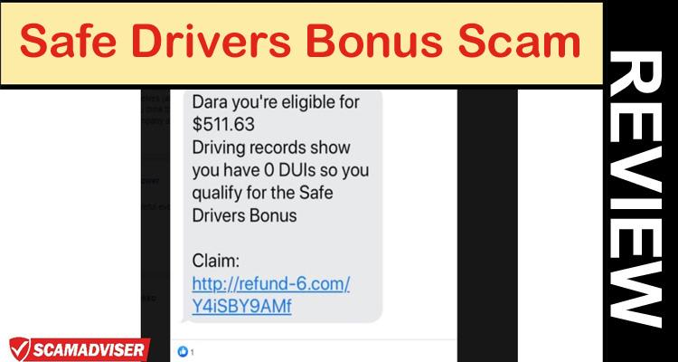 Safe Drivers Bonus Scam