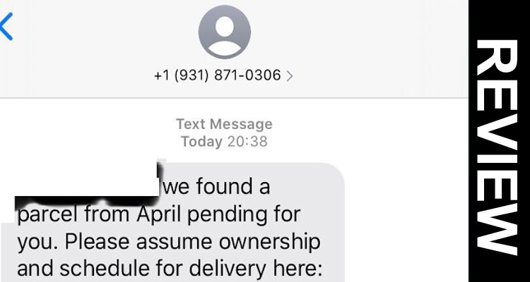 Text Message From Usps Scam