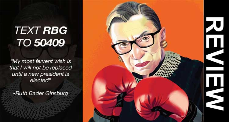 Text Rbg to 50409 Scam 2020