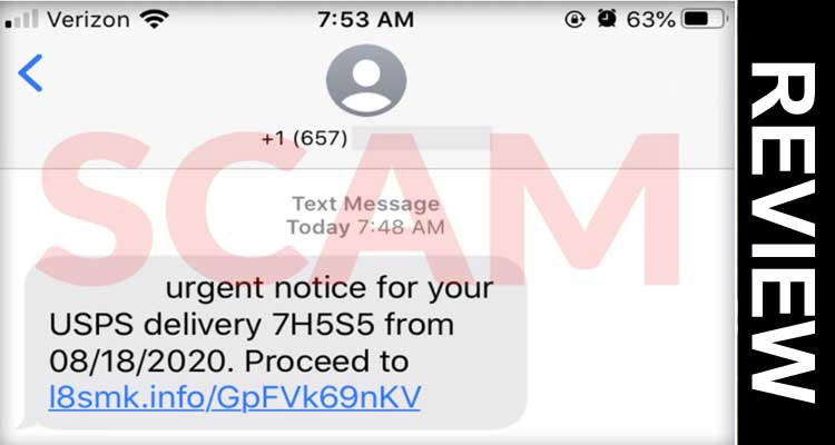 Usps Text Notifications Scam