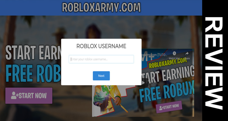earn robux free 2020 Roblox Army Com Robux Sep 2020 Scanty Reviews