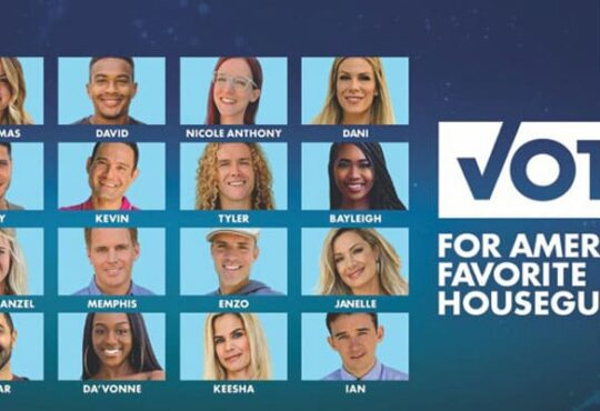 Big Brother 22 Favorite Houseguest Poll 2020