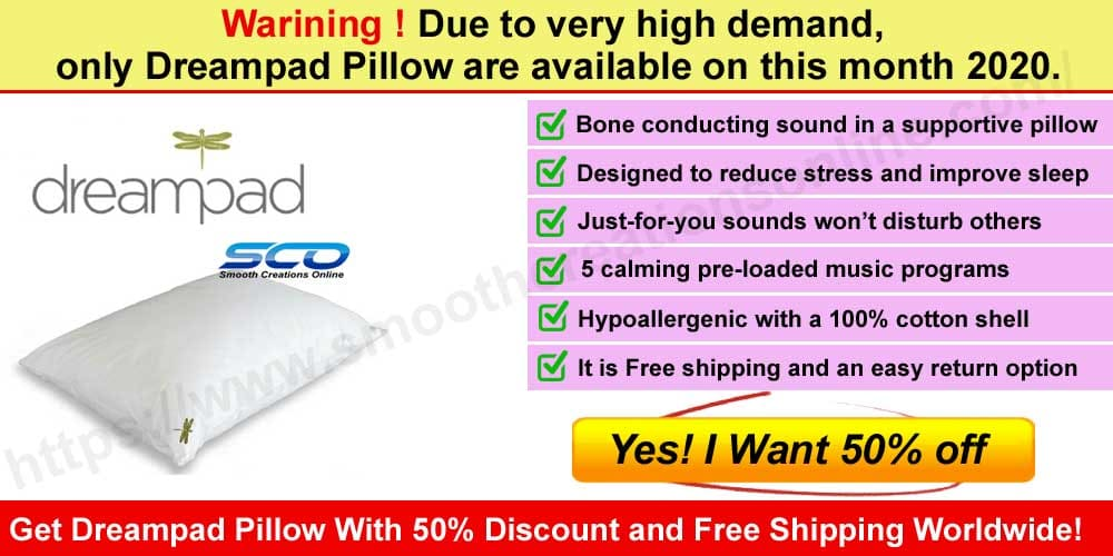 Dreampad Pillow Reviews where to buy smoths