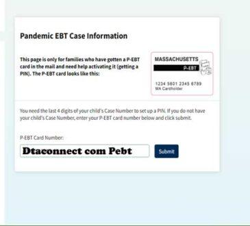 Dtaconnect com Pebt 2020.
