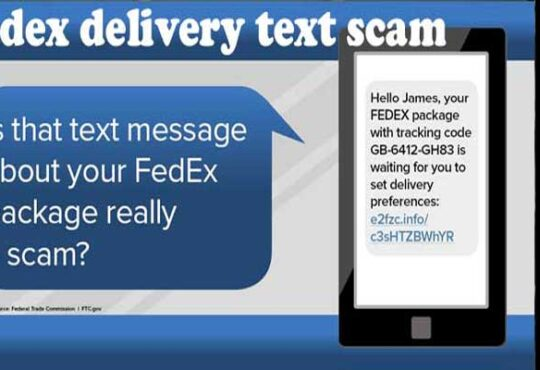 FedEx Delivery Text Scam 2020