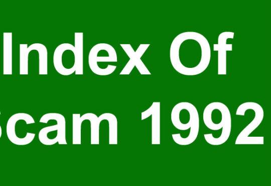 Index Of Scam 1992