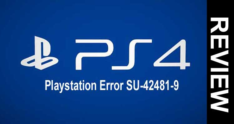 Playstation Error SU-42481-9 2020