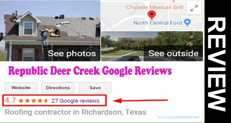 Republic Deer Creek Google Reviews 2020