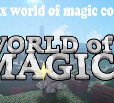 Roblox World of Magic Codes 2020