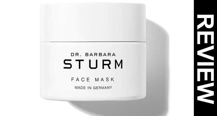 Is Dr Barbara Sturm Face Mask Legit 2020